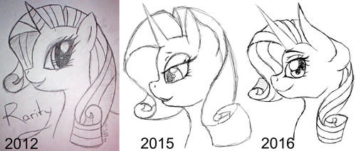Draw This Again: Rarity by MissiTofu