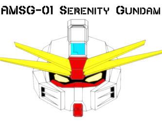 AMSG-01 Serenity Gundam by ActionMechNow