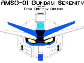 AMSG-01 Serenity Gundam TE Colors by ActionMechNow