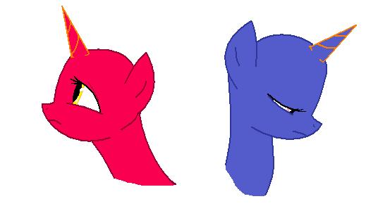 MLP Base ~ Sad Heads by randomfan12