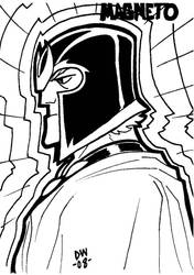 MAGNETO Sketch by dadicus