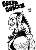 GREEN GOBLIN by dadicus