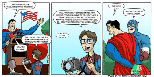 SUPERMAN CITIZENSHIP by dadicus
