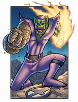 Super SKRULL REDUX by dadicus