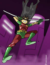 The Boy Wonder by dadicus