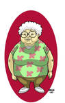 GrandMother Characture by dadicus