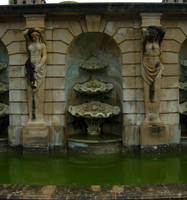 390 - fountain by WolfC-Stock