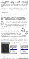 Using the GIMP : Soft-Shading by saphiremomo