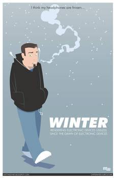Winter by mattwileyart