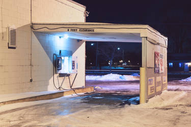 Rantoul Food Mart by mattwileyart