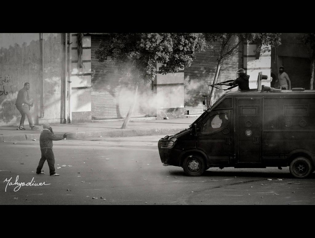 Egyptian Revolution I by Yahyamd