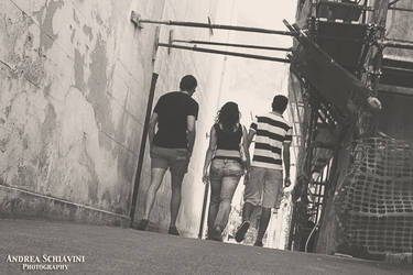 In the streets of Sicily by Metalelf0