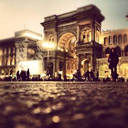 Piazza del Duomo, Milano by Metalelf0