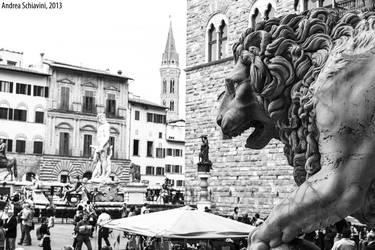 Firenze, Loggia della Signoria by Metalelf0