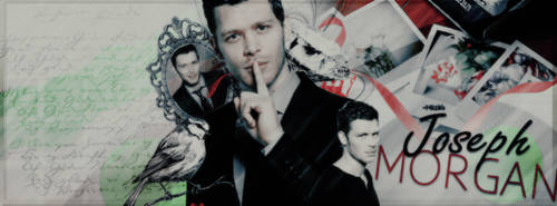 Joseph Morgan by SmilerGirlll