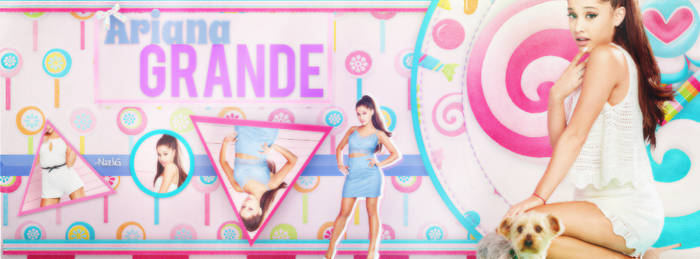Ariana Grande Timeline Cover by SmilerGirlll
