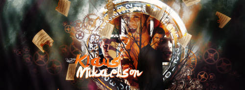 Klaus Mikaelson Timeline Cover#1 by SmilerGirlll