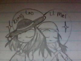 Kung Lao and Li Mei Love VIII by Jyoumifan1