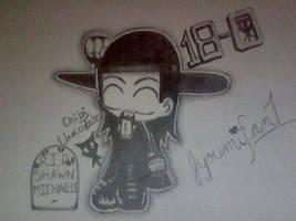 Undertaker Chibi 18-0 RIP HBK by Jyoumifan1