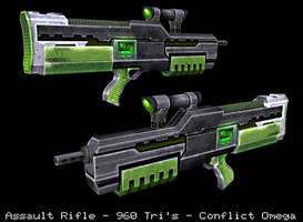 Assault Rifle by psionic