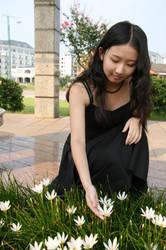 Picking Flowers by SageCherry
