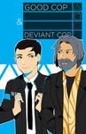 Good Cop and Deviant Cop by Nozominn