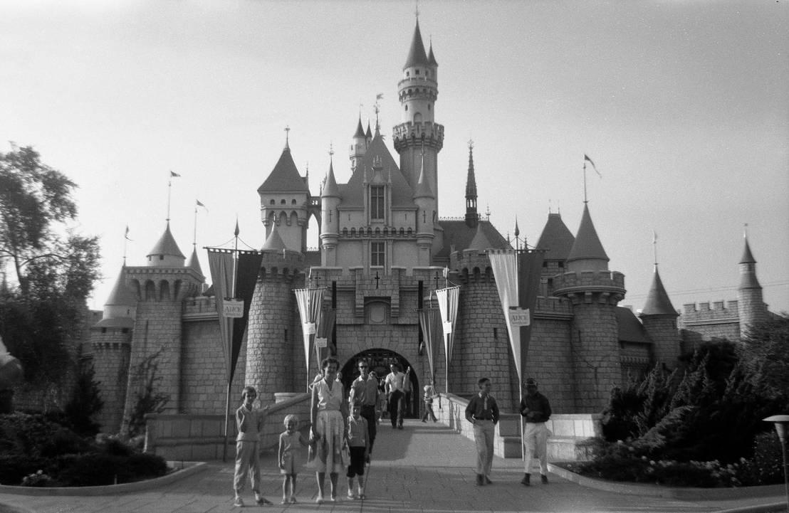 Sleeping Beauty Castle, 1957 by gameraboy