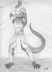 Old Wolf's Legacy:  Kriv Balazar by Djake