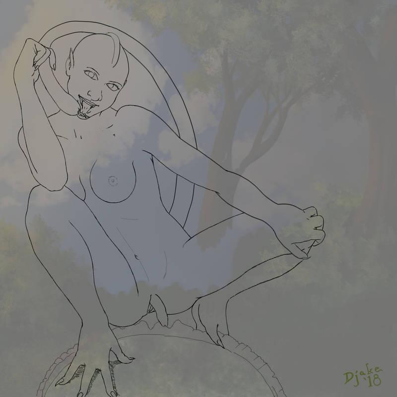 Sunset Svedka - Re-pose by Djake