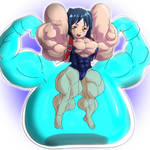 I love grappler girls in fighting games by devmgf
