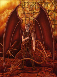 Guarding the Gates of Hell by Dazvinik