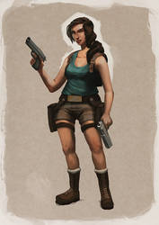 Lara Croft by GijsWitkamp