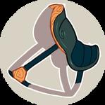 Icon Rhippon Rooster Macaw Saddle by killaminjaro