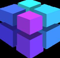 Color Boxes - Blue by kellenkyo
