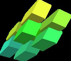 Color Boxes - Green by kellenkyo