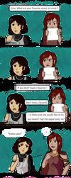 Deedra and Echo by B3GIN