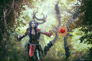 Classic Irelia with weapon by Daraya-crafts