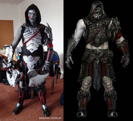 dark tribe orc cosplay from shadow of war by Daraya-crafts