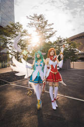 Star Guardian Miss Fortune and Soraka by Daraya-crafts