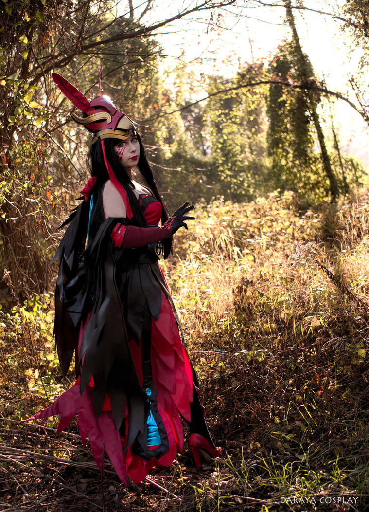 Dark Flame Hououga from Onmyoji by Daraya-crafts
