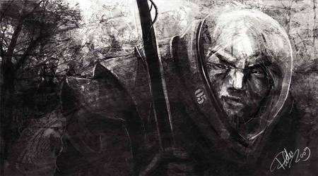Wanderer - sketch by asiantuntija