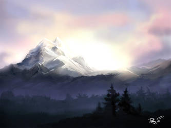 Mountainscape by asiantuntija