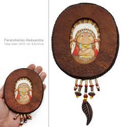 Tribal chief by Netopir