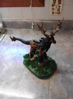 Deergon sculpture by DrewCarriker6231993
