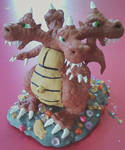 Obese Quadra Dragon by DrewCarriker6231993