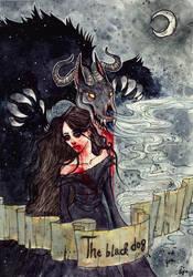 The Black Dog by Aya-Lunar