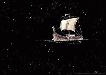 Ship by Aya-Lunar