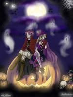 Nalu Halloween Collab... by Joshdinobarney