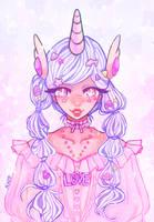 Unicorn Girl by Oa-chi