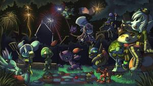 League of Legends - July Art Contest - Yordles by ChocoChaoFun